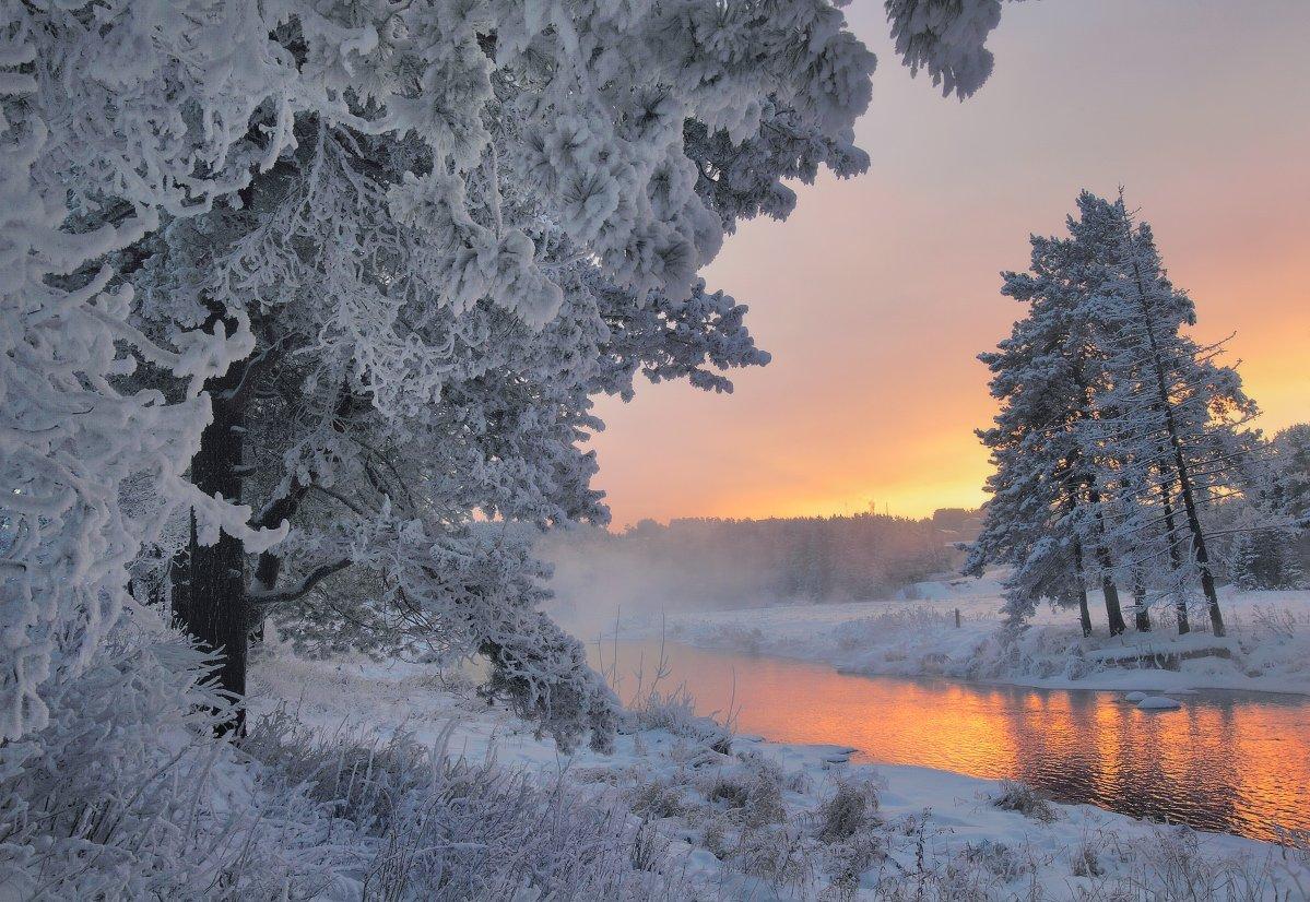 урал, зима, река, заморозки, Бродяга с севера