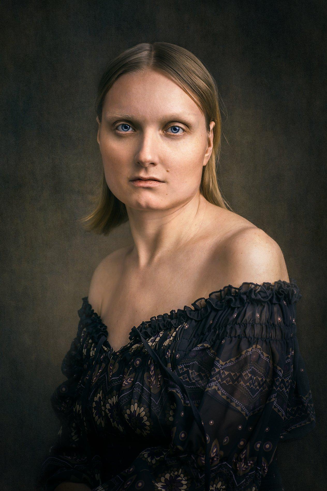девушка, студия, портрет, камерный_портрет, студийная_съёмка, Камынина Елена