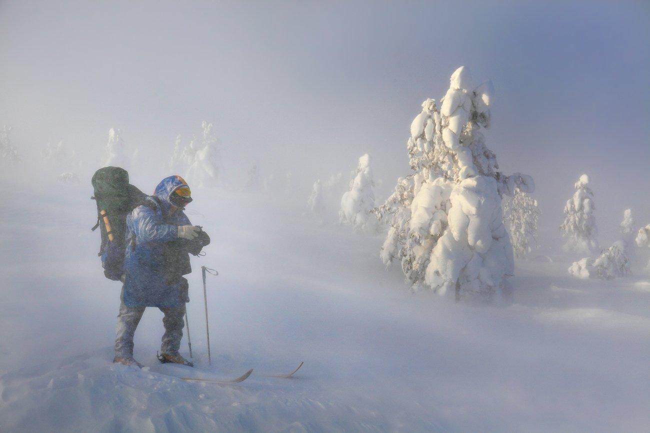 урал, зима, фотограф, Бродяга с севера
