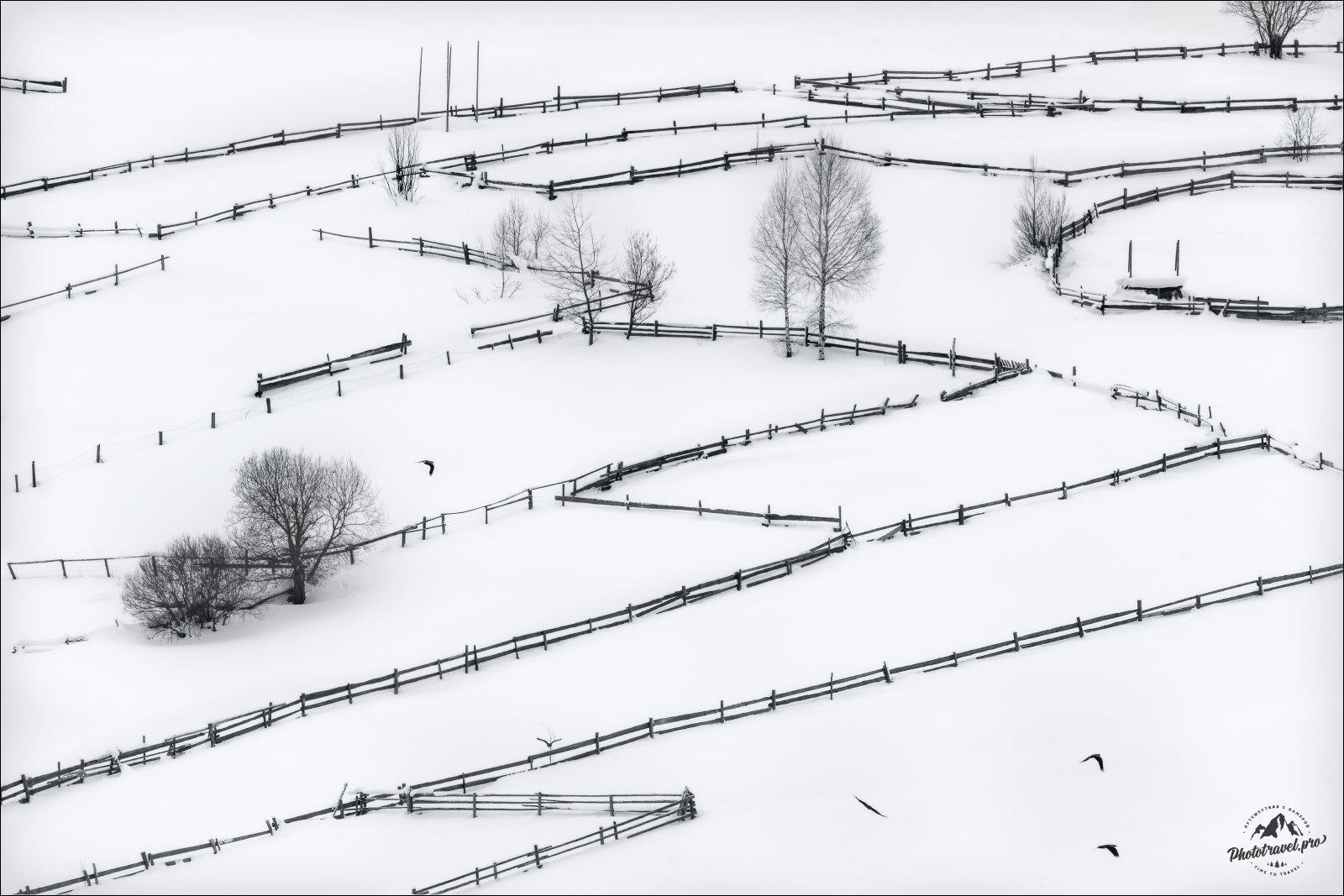 карпаты, зима,, Влад Соколовский