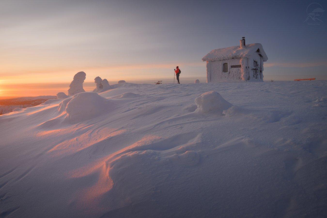 пейзаж, природа, море, финляндия, лапландия, Гордиенко Анатолий