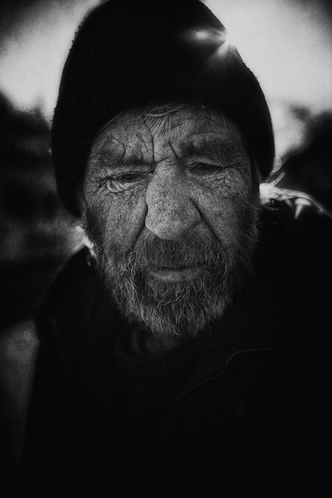 портрет,жанровая фотография,черно-белое,, Воронин Андрей
