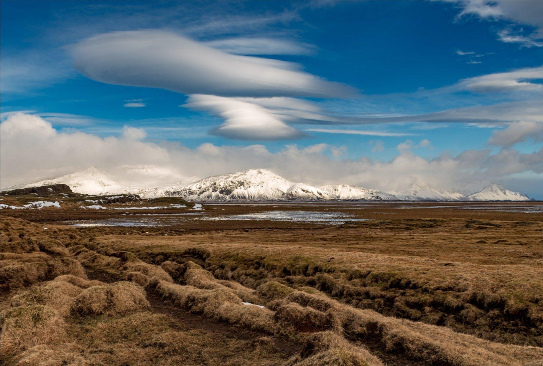 исландия, лентикуряное, облако, Исаков Дмитрий