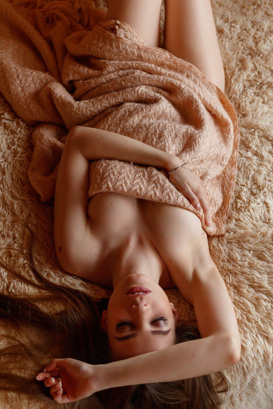 ню, портрет, девушка, Сергеев Сергей