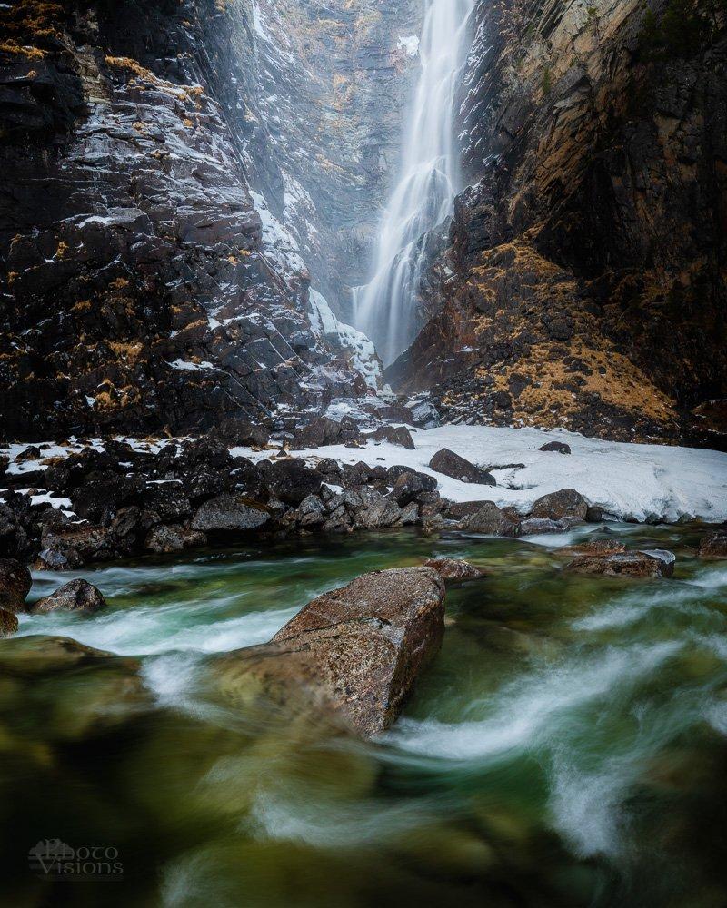 waterfall, svoufallet, winter, norway, norwegian, landscape, falls, Szatewicz Adrian