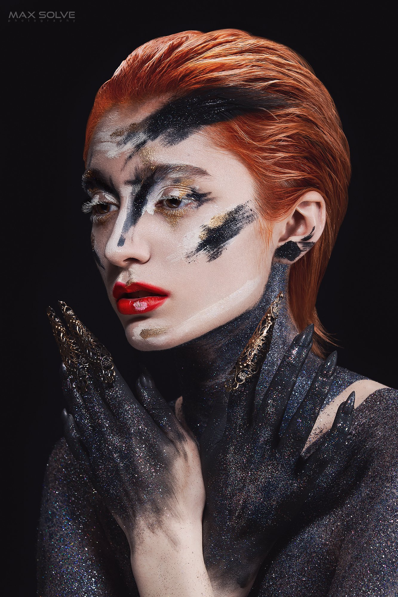 fashion, beauty, people, face, art, faceart, Max Solve