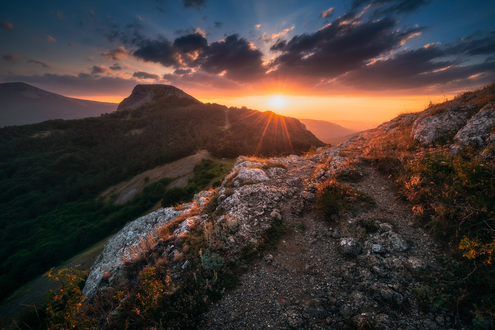 крым, природа, горы, пейзаж, крымские горы, природа крыма, закат, туризм, путешествия, отдых в горах, отдых в крыму, тур по крыму, фототур в крым, Лузанов Вячеслав