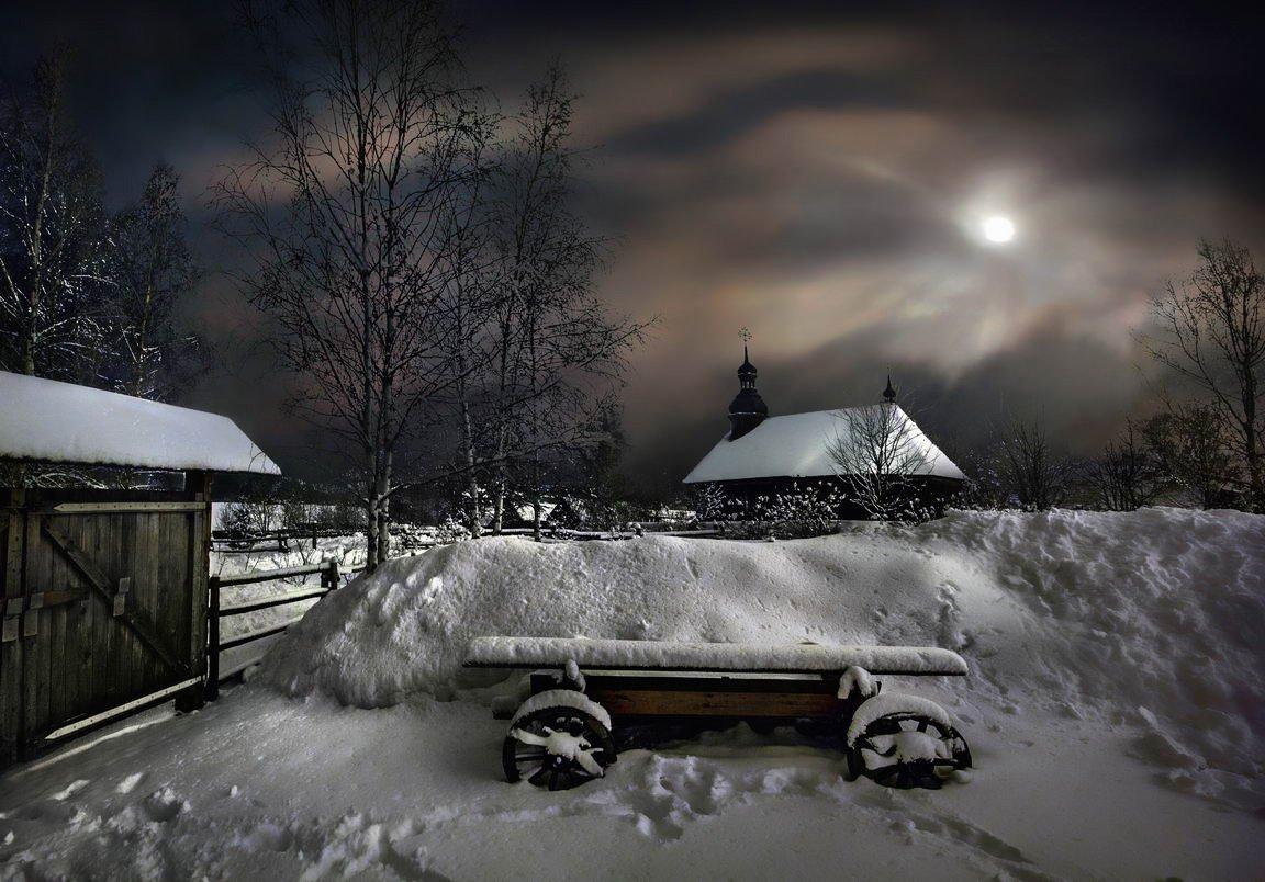 беларусь, звезды, зима, луна, мороз, ночь, снег, замок, гольшаны, вечера-на-хуторе, озерцо, логойск, дудутки,  фотограф-интерьеров-в-минске, Serg-N- Melnik-oy