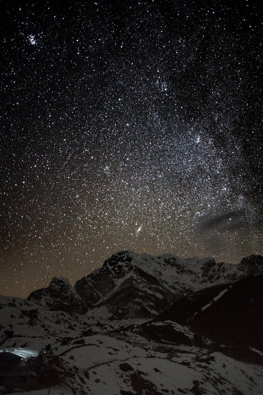 landscape, mountains, climbing, mount, mountain, nepal, star, peak, himalaya, vertical, summit, milky, way, astro, himalayas, trekking, everest, astrophotography, starlight, milkyway, galaxy, falling, star, stardust, shooting, star, starry, night, astroph, Герасименко Арсений
