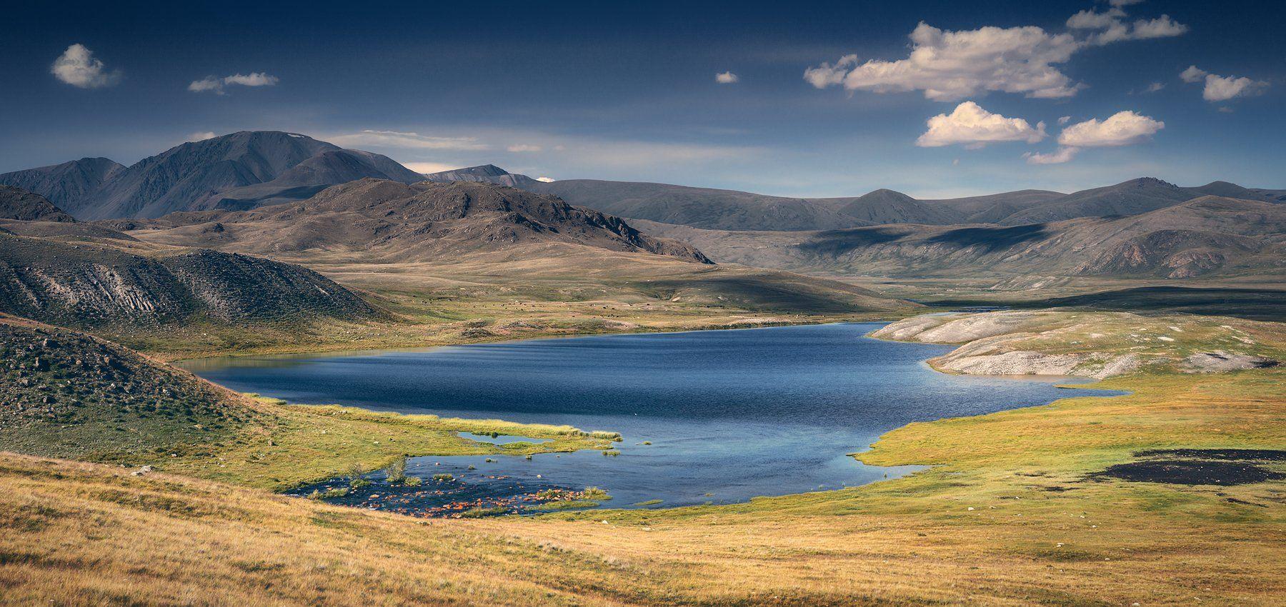 пейзаж, панорама, горы, озеро, алтай, сибирь, природа, путешествия, буйлюкем, Антипов Дмитрий