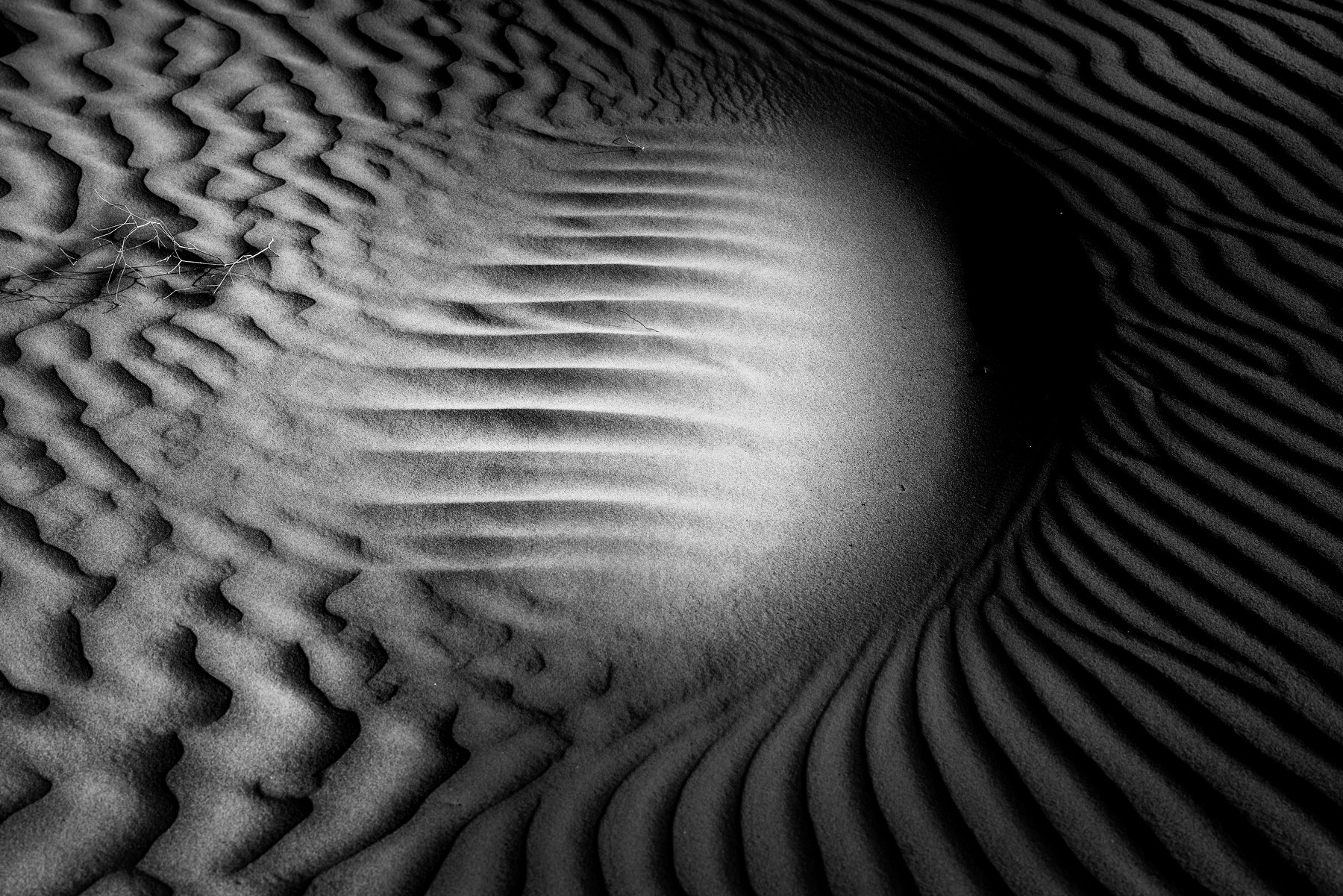 Sand,composition,black and white, najem hussein