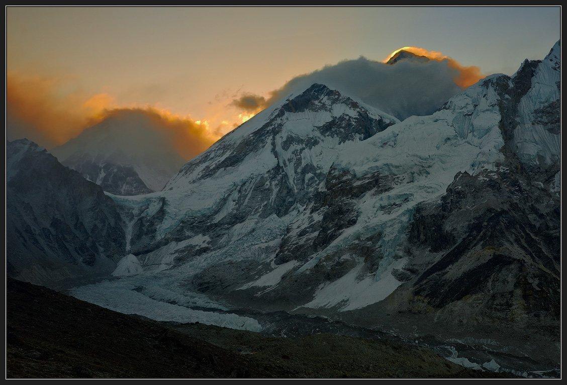 непал, горы, эверест, рассвет, сагарматха, джомолунгма, Николай Стюбко