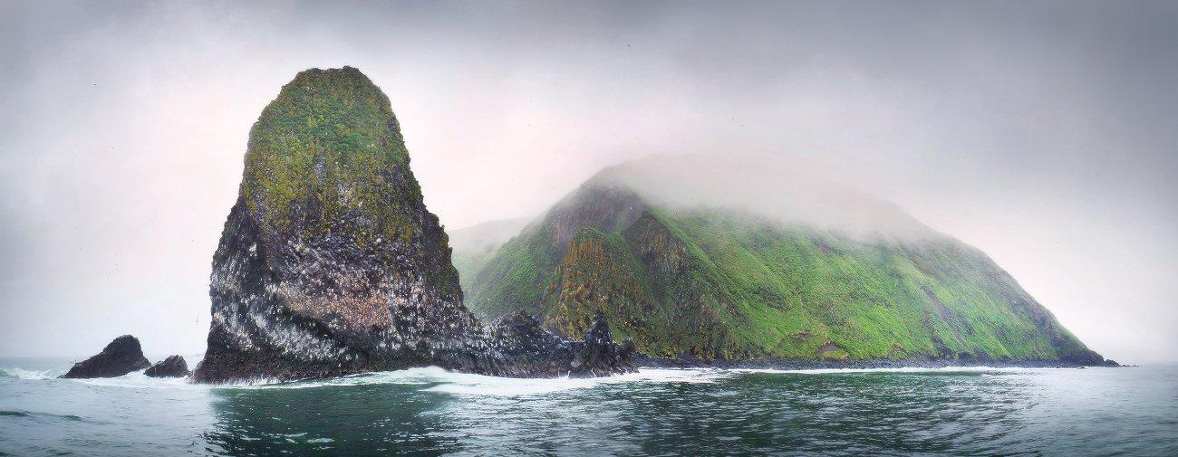 камчатка, тихий океан, скалы, острова, птичий базар, Макурин Сергей