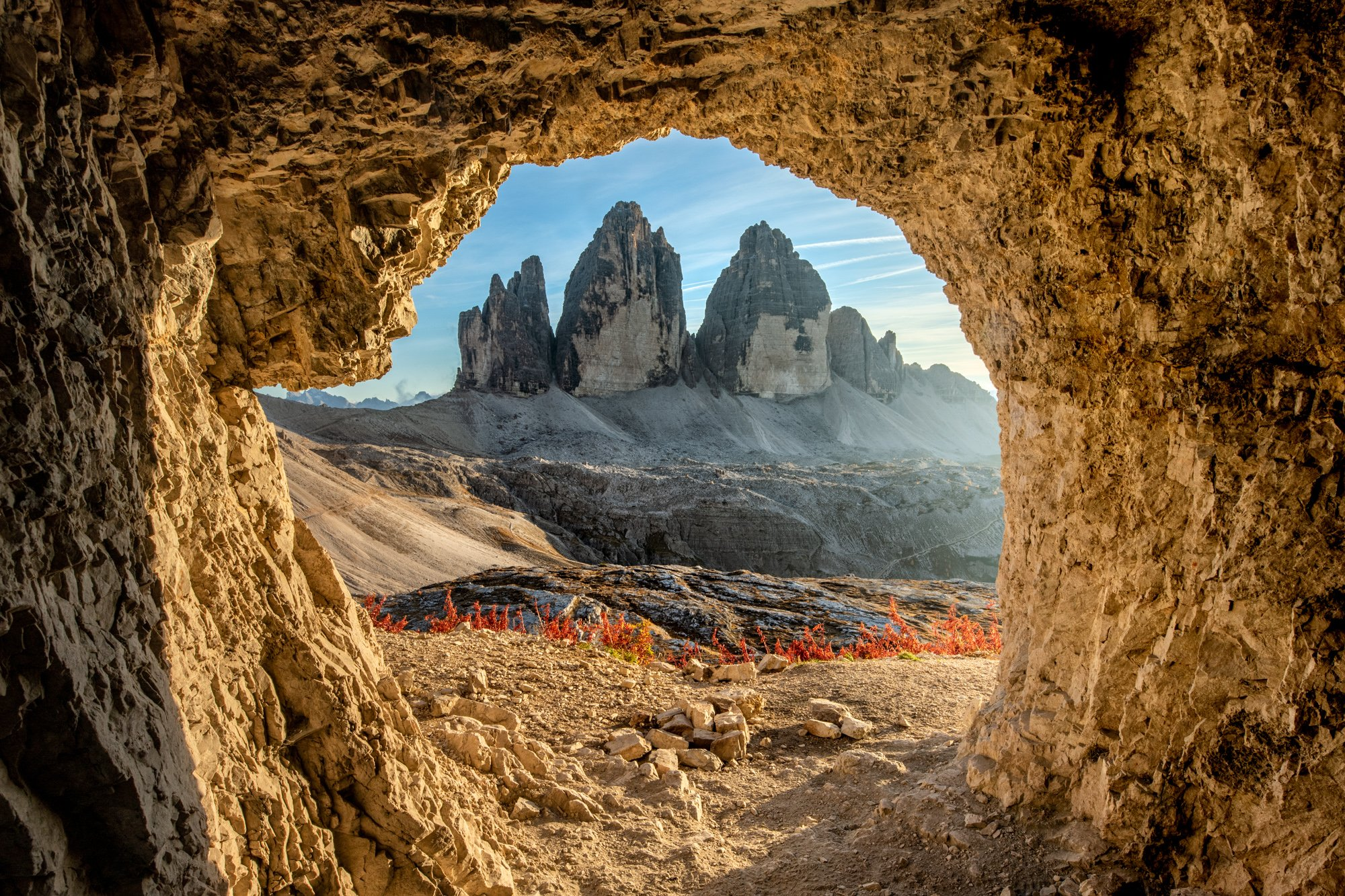 cave, Tre Cime, Mountains, Italy, Dolomite, , Sylwia Grabinska
