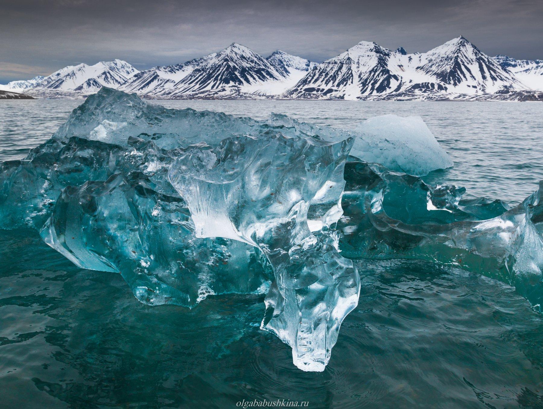 шпицберген, свальбард, арктика, arctic, svalbard, ice, iceberg, Бабушкина Ольга