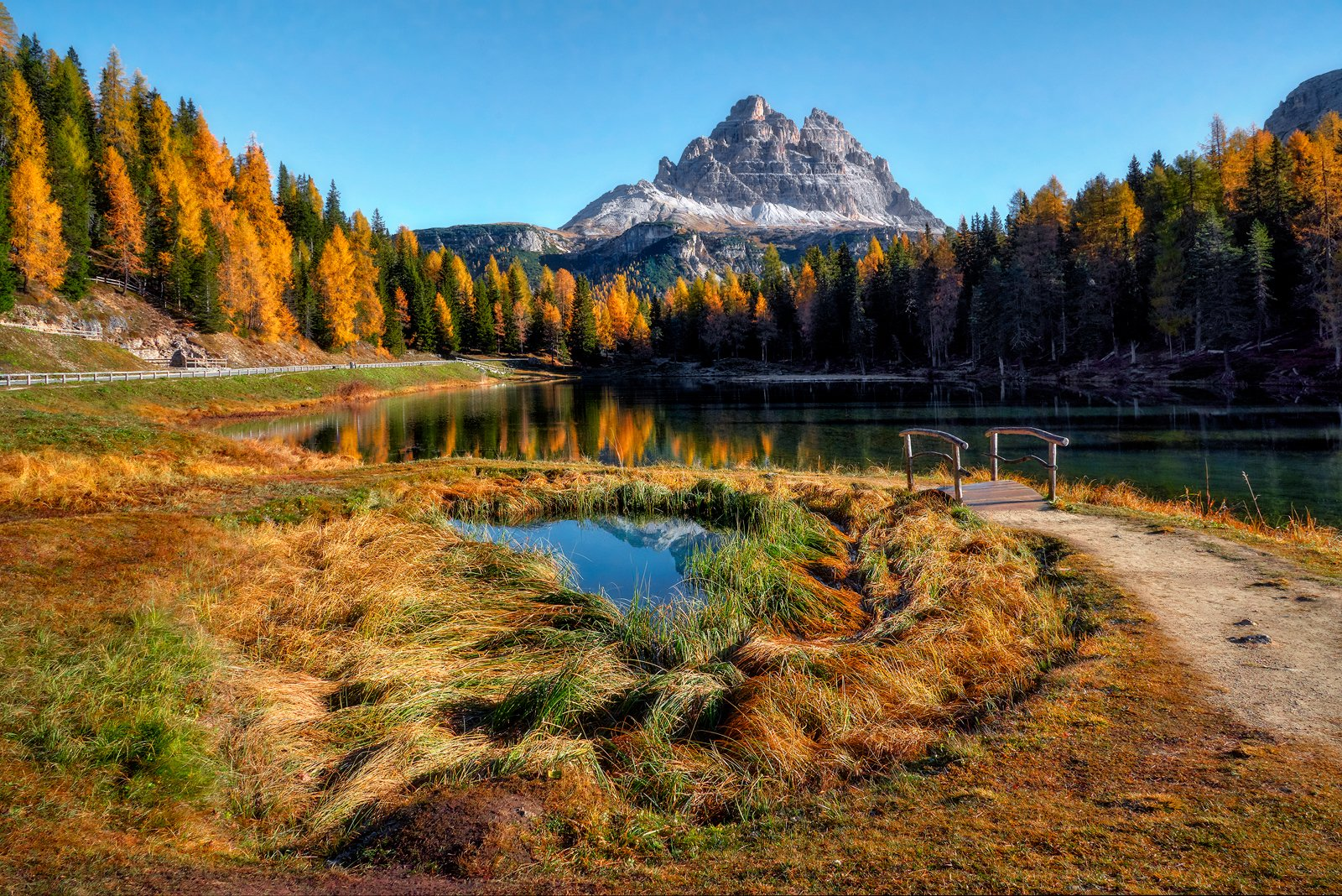 landscape, Jan Siemiński