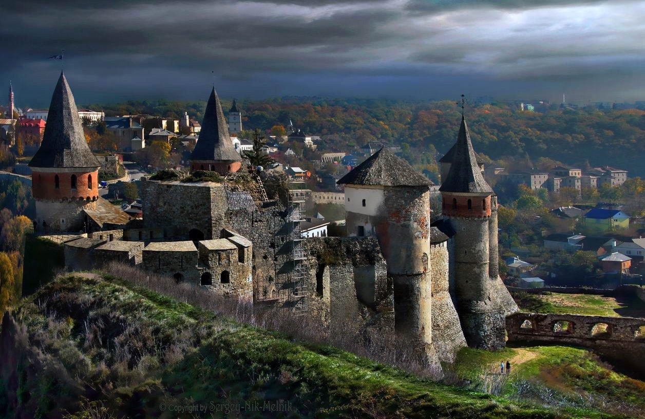 замок, каменец-подольский, крепость, украина, замки крепости украины, Serg-N- Melnik-oy