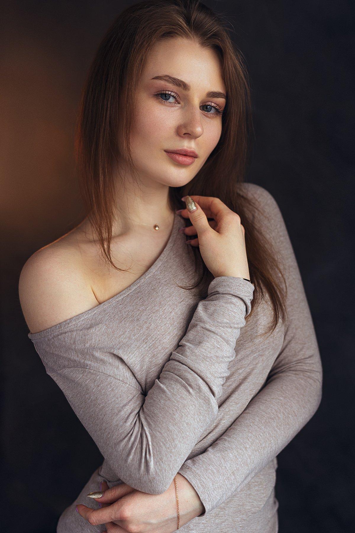 обработка, портрет, модель, арт, art, model, popular, девушка, красивая, глаза, классика, свет, Лосев Иван
