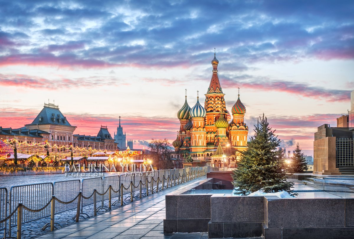 москва, красная площадь, Юлия Батурина