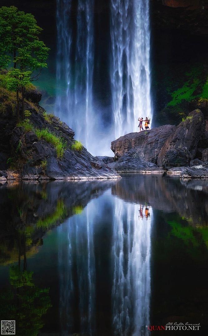 quanphoto, landscapes, nature, long_exposure, reflections, waterfall, vietnam, quanphoto