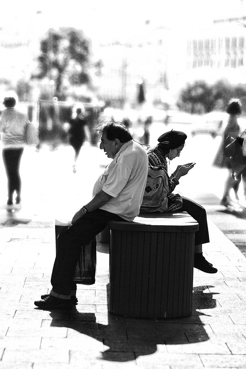 чб фото, уличная фотография, Vera Trandina