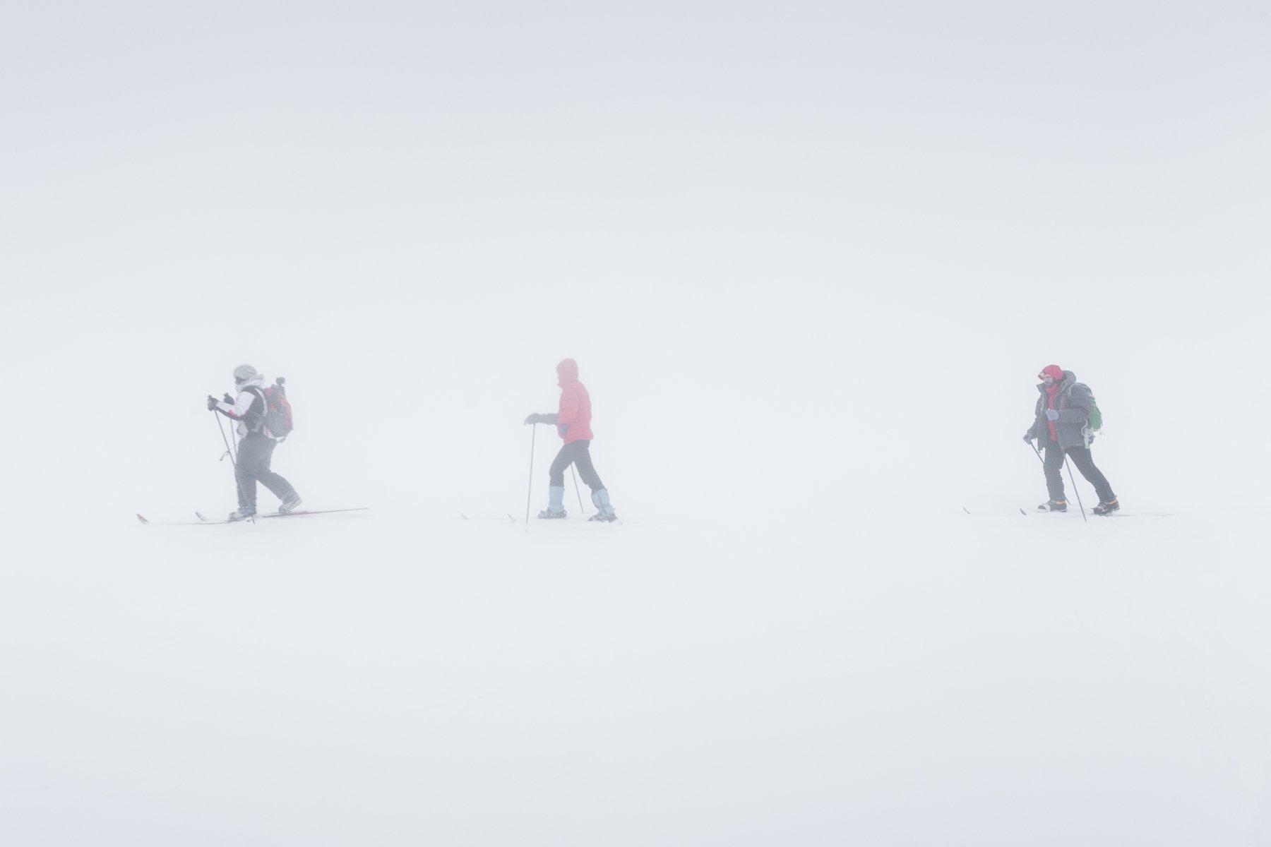 Урал, Северный Урал, ГУХ, главный уральский хребет, Лямпа, зимний поход, мгла, лыжи, Гарифуллин Сергей