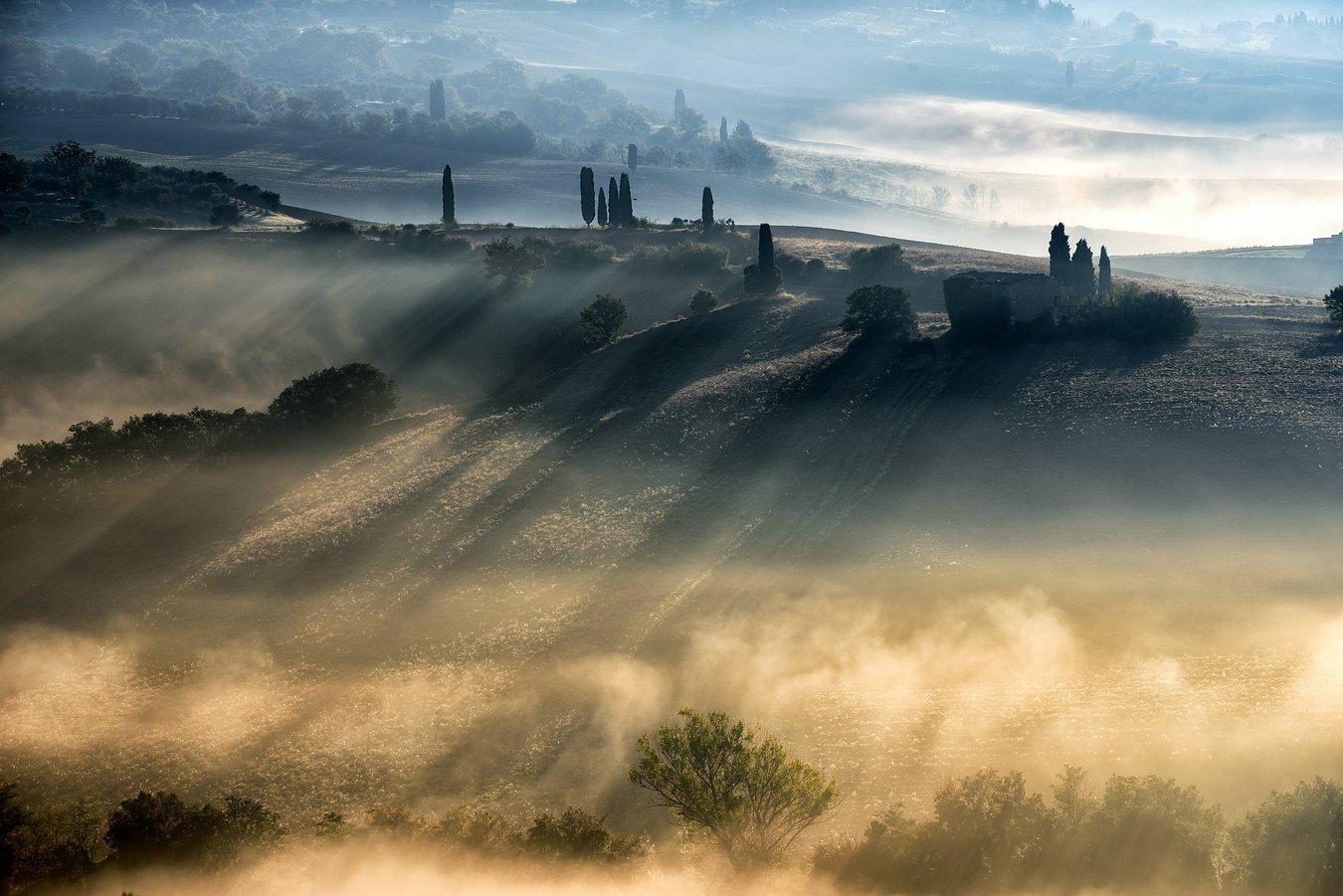 Tuscany Italy Pienza, Adam Pachula