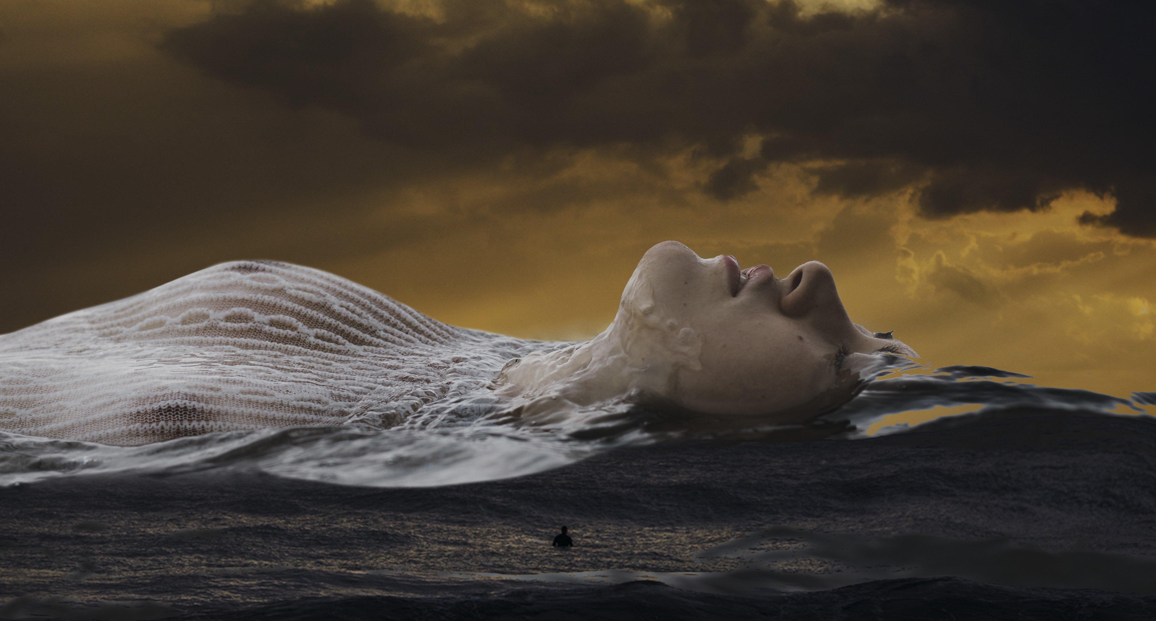art photography conceptual collage, Наталья Санникова