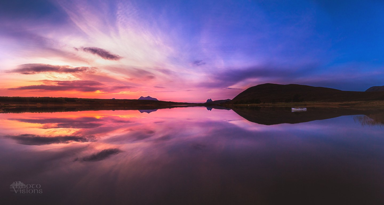 sunset,mood,sky,reflections,mountains,scotland,highlands,, Szatewicz Adrian