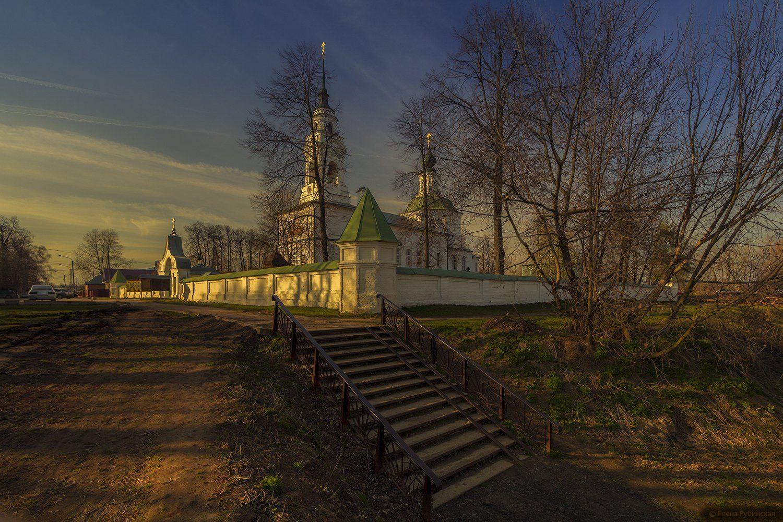 кострома,город,архитектура,церковь, Елена Рубинская