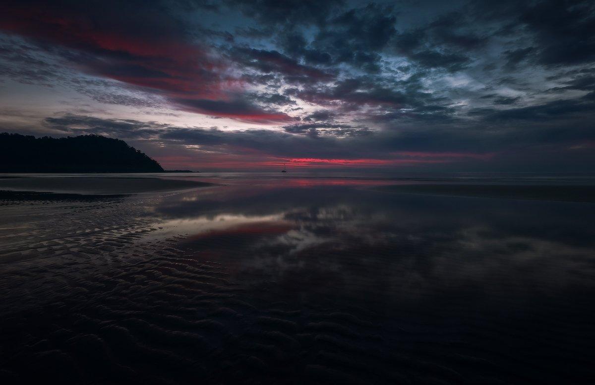 thailand, koh kood, island, sunset, Boris Bogdanov