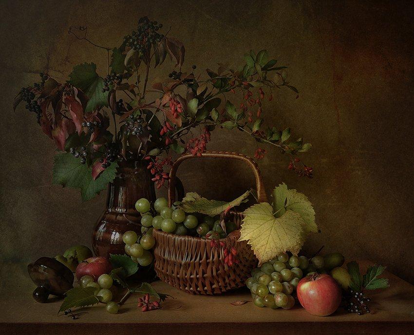 сентябрь, осень, виноград, Зоя Сорока