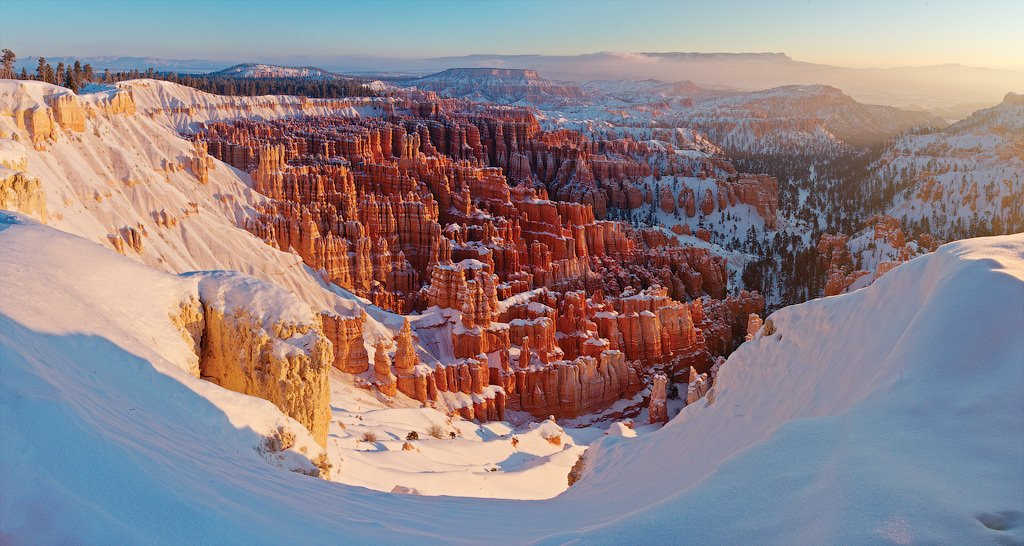 utah, bryce canyon, inspiration point, Алексей Харитонов