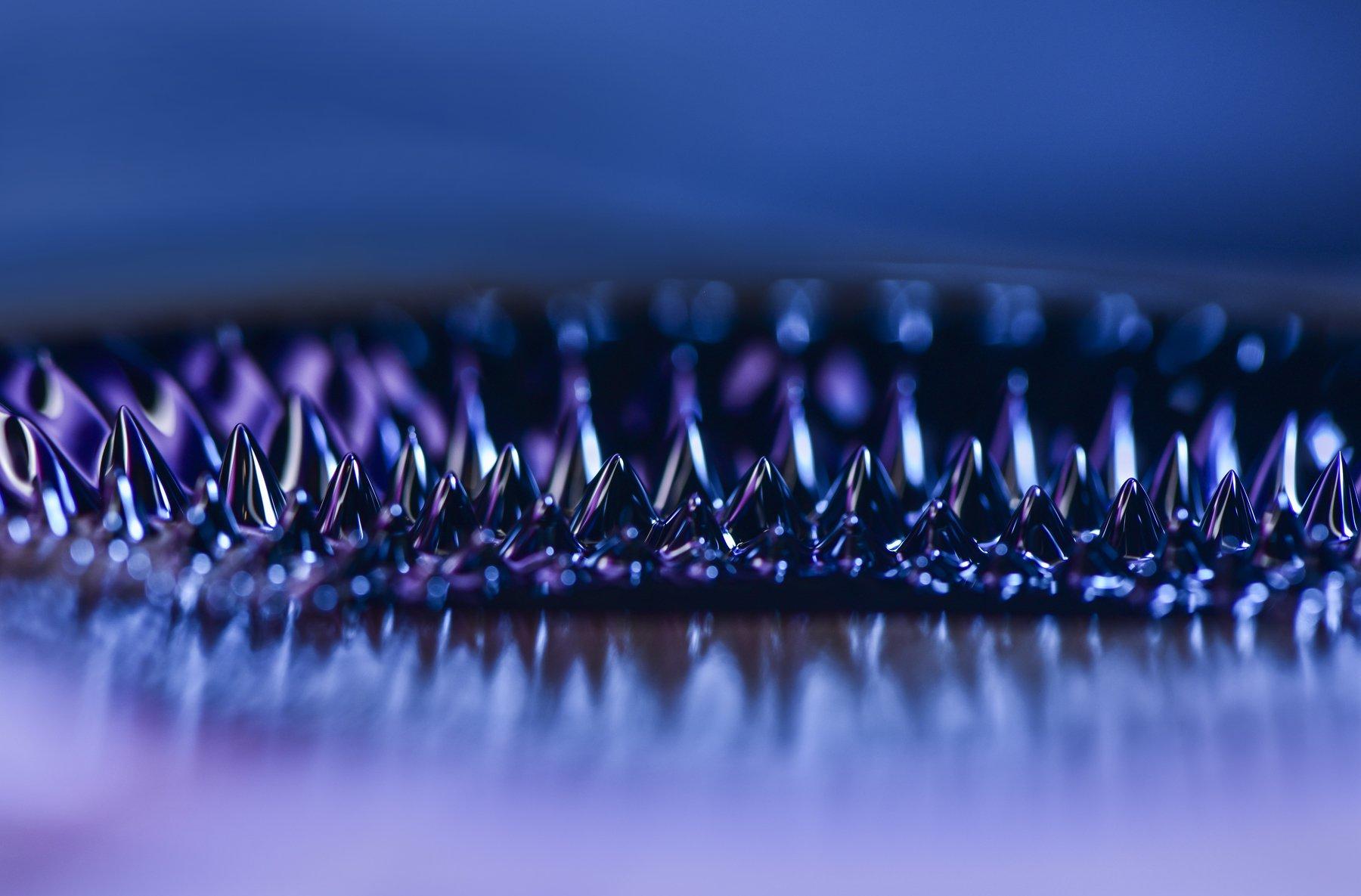 abstract, abstraction, blue, purple, close-up, Ивелина Благоева