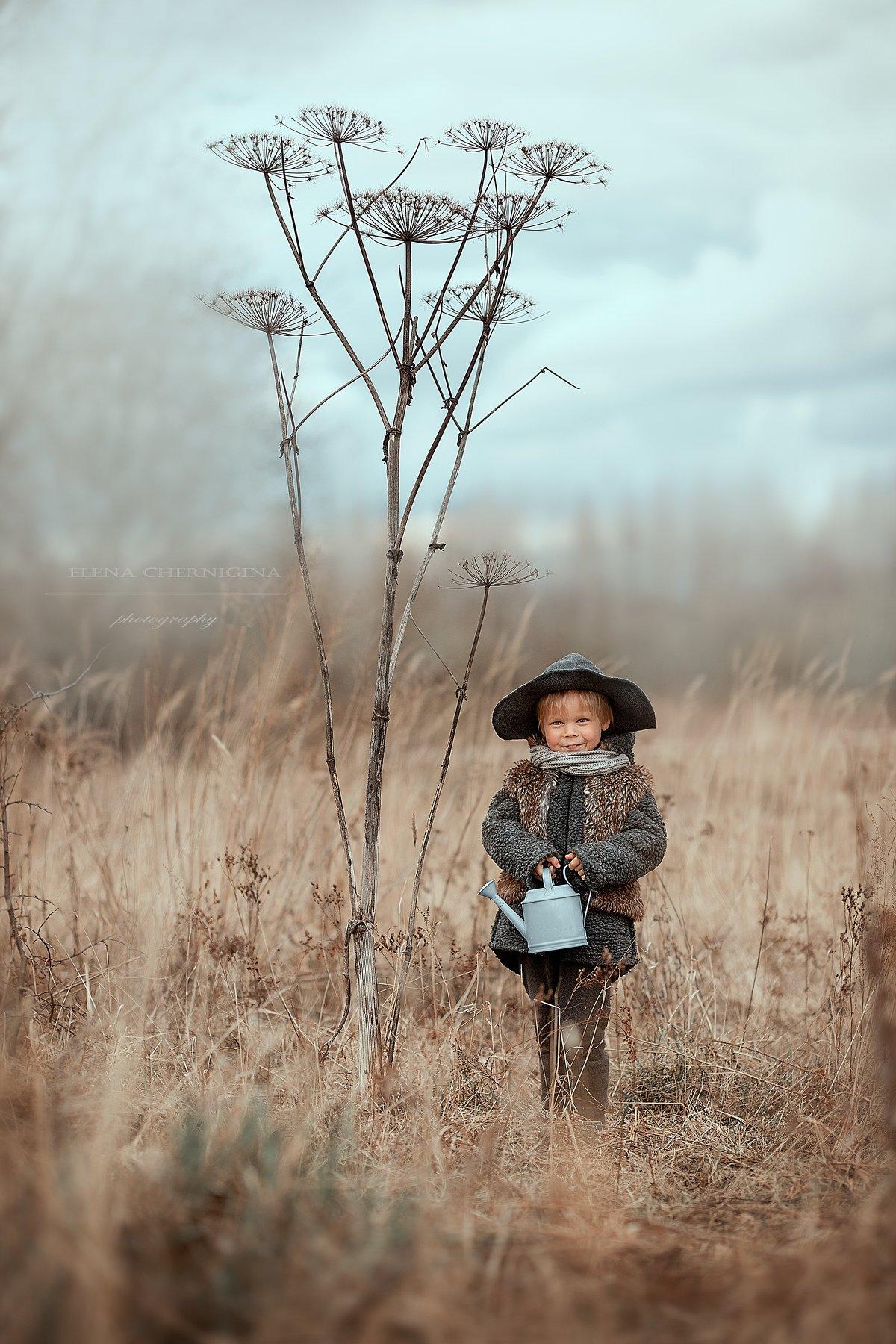 мальчик, дневной свет, дети, художественная фотография, фотосессия на природе, борщевик, улица, природа, Чернигина Елена
