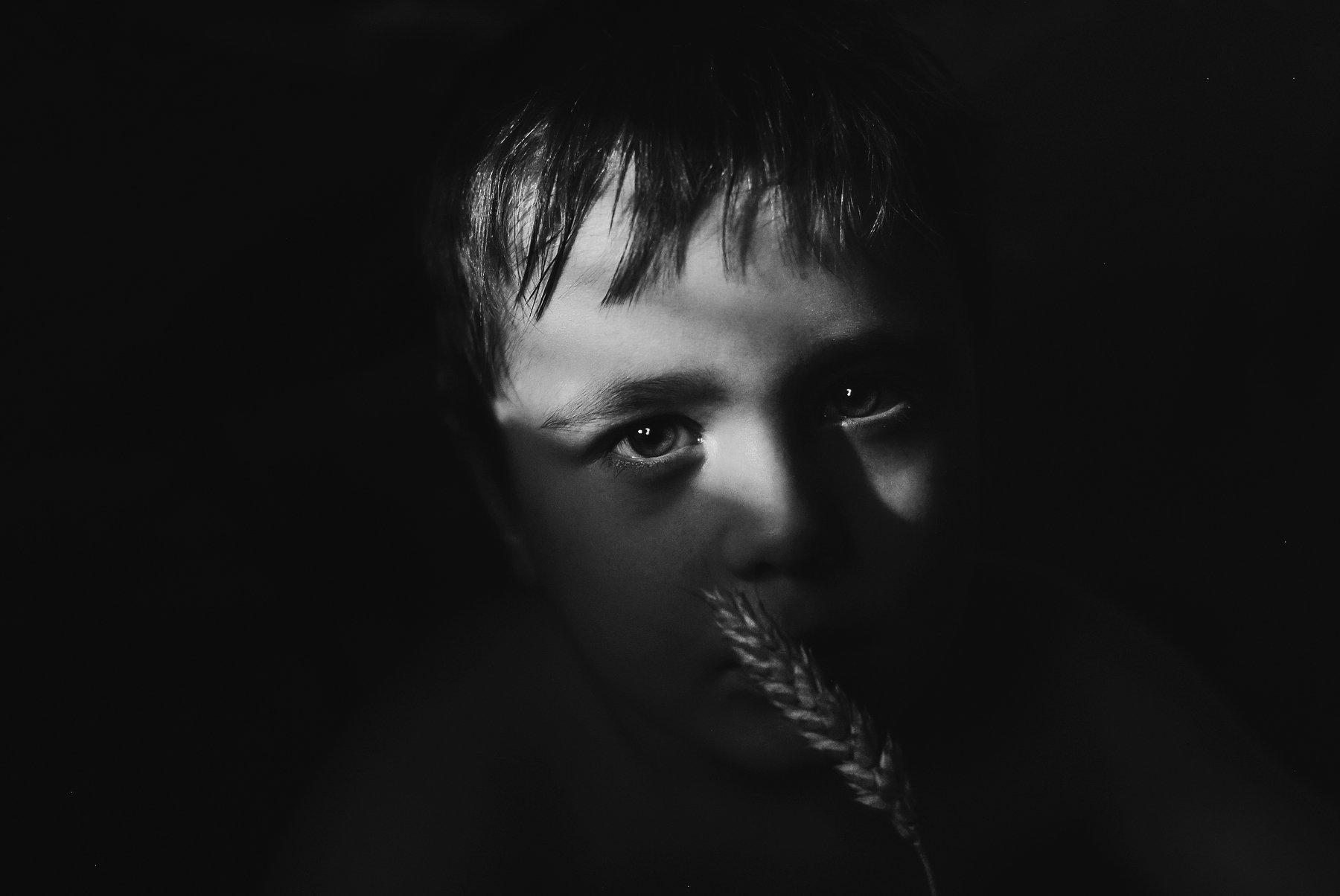 чёрно-белый,психология,слезы,обида,ребёнок, Володин Владимир