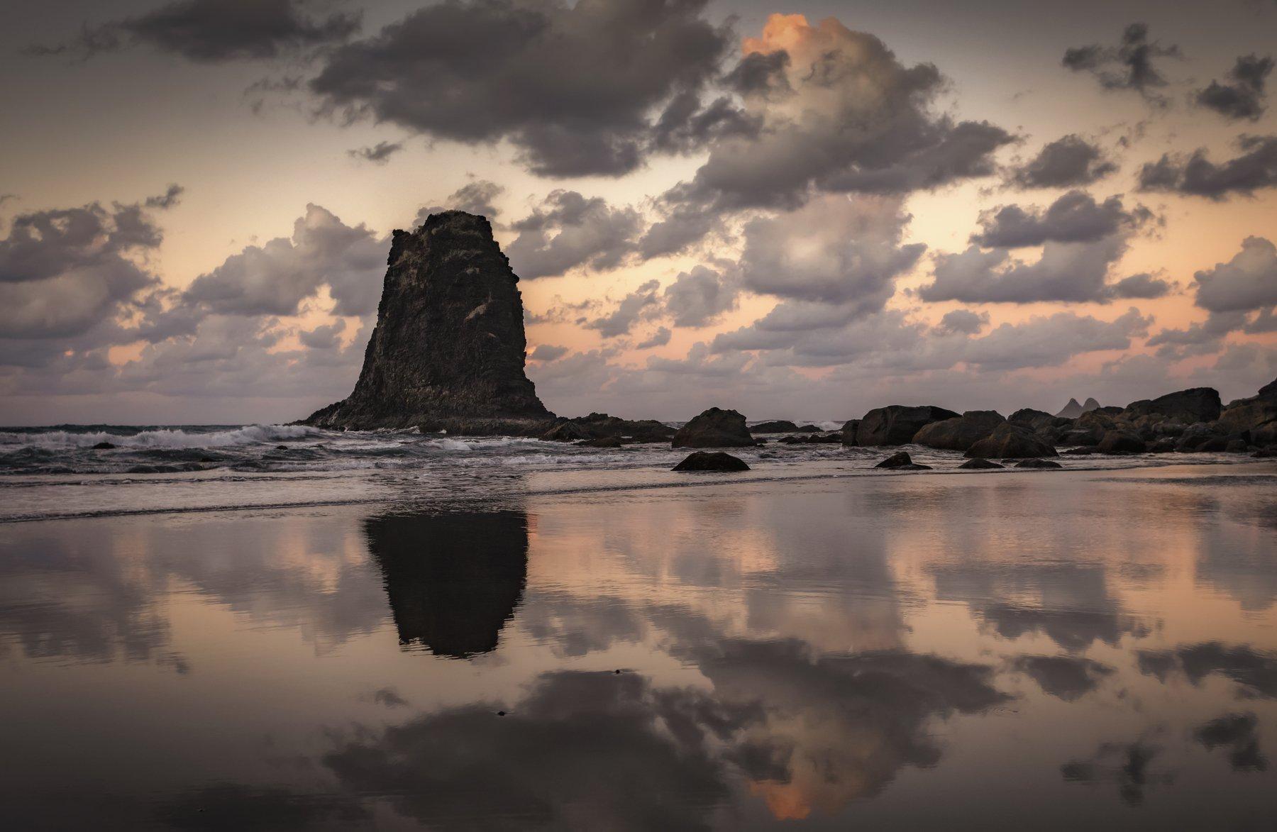 пляж, океан, скала, Alexandr Bezmolitvenny