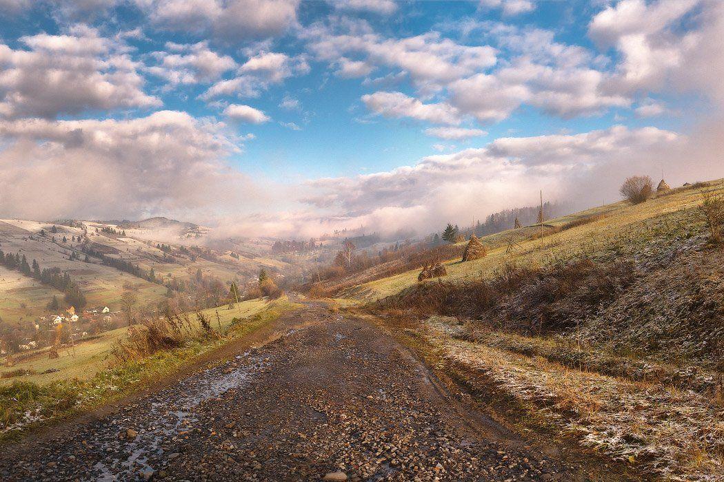 карпаты, ноябрь, Вейзе Максим