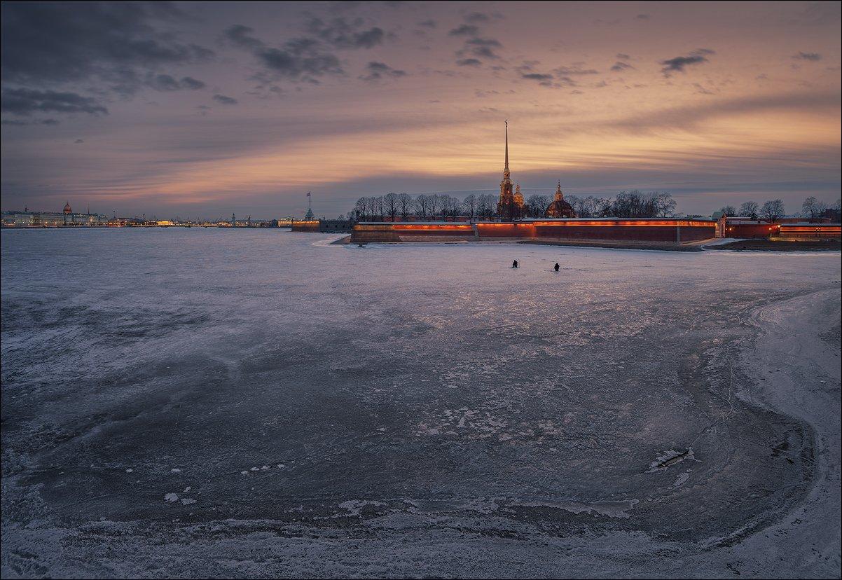 санкт-петербург, нева, рыбак, петропавловская, крепость, EGRA : ЕГРА