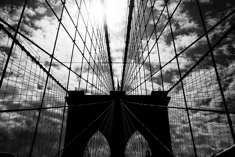 brooklyn bridge, new york, Andrey M. Kolygin