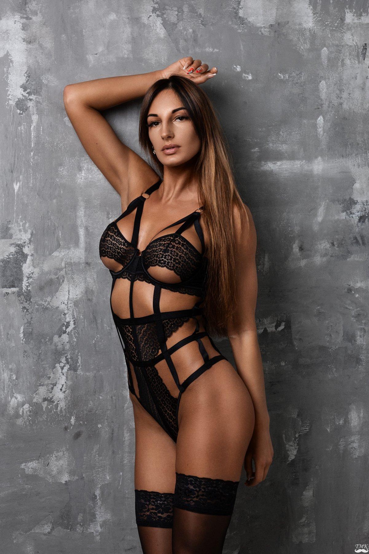 portrait, glamour, woman, beauty, sexy, lingerie, studio, people, lithuania, fit, Masoit Tomas