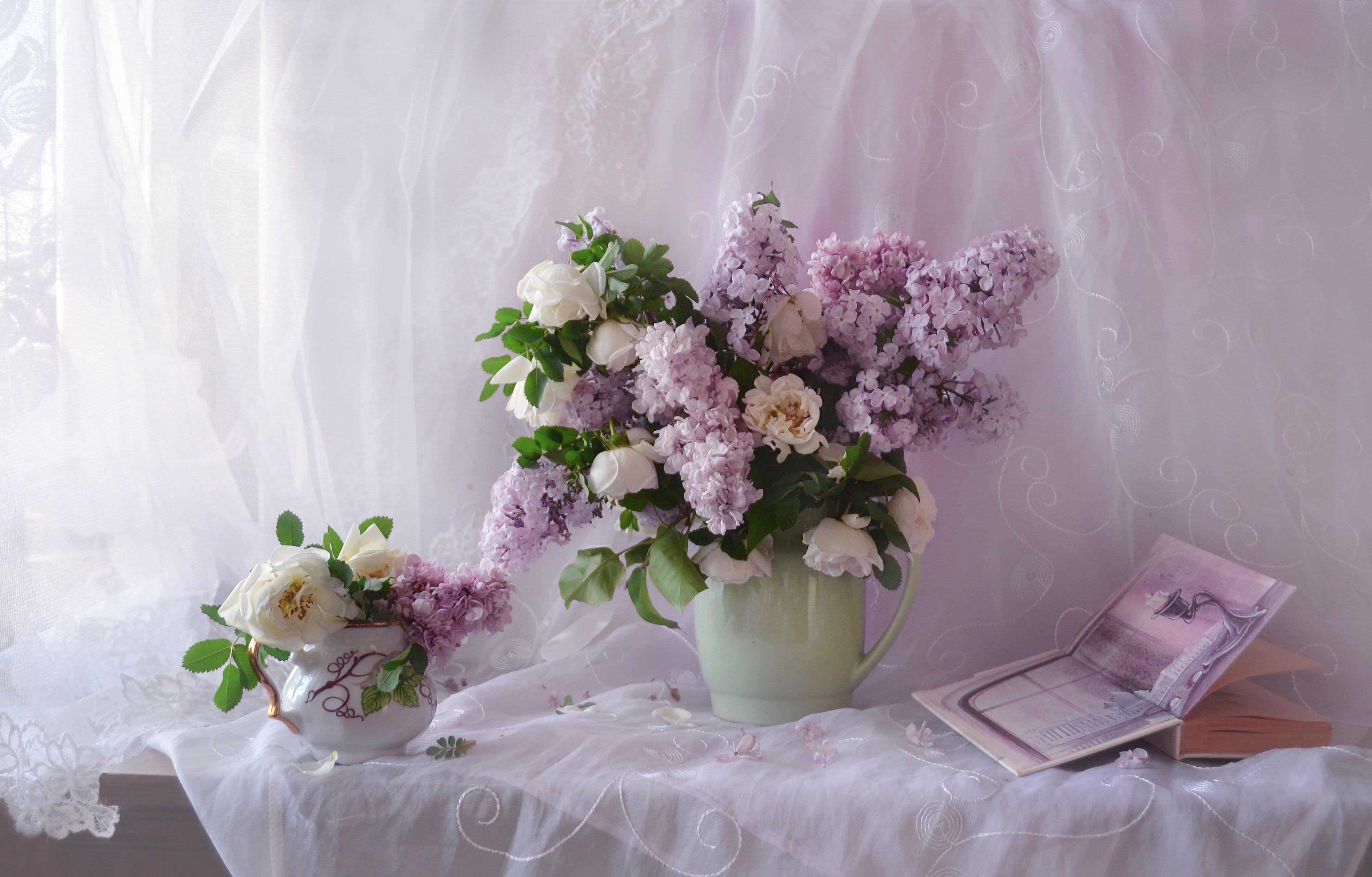 still life, фото натюрморт, стихи, сирень, натюрморт, настроение,белый шиповник, книга, лето, июнь, Колова Валентина