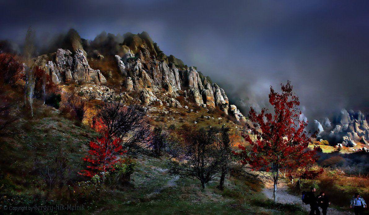 алушта, водопад, горы, демерджи, джур-джур, крым, симеиз, скалы, чатырдаг, панагия, зеленогорье, каменные-монстры-крыма, Serg-N- Melnik-oy