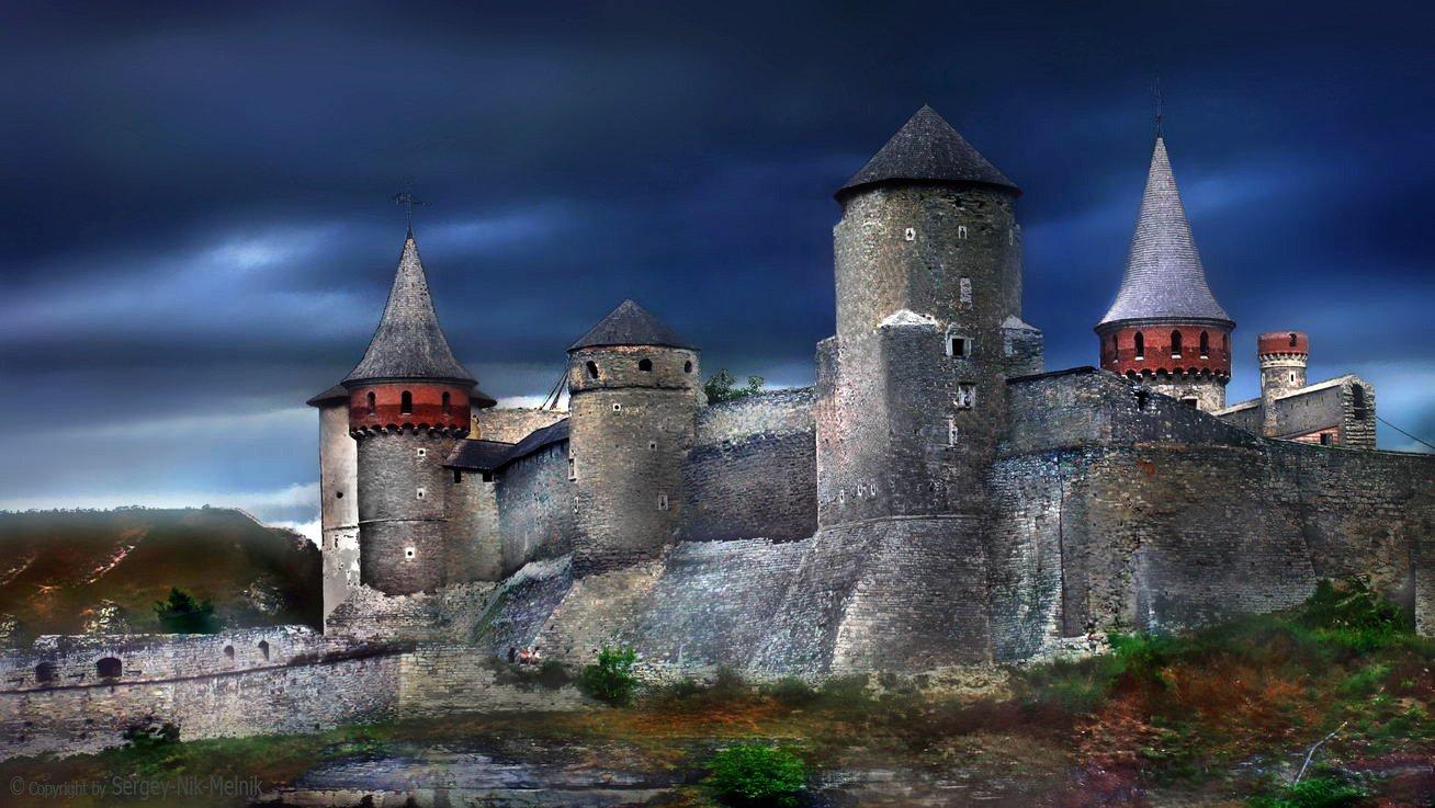 замки-крепости-украины, замок, крепость, украина, хотин, хотинская-крепость, каменец-подольский, Serg-N- Melnik-oy