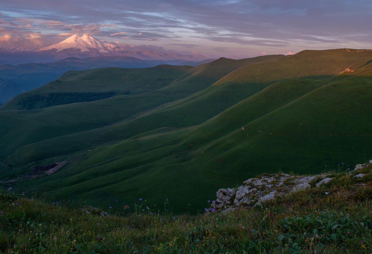 горы, перевал, эльбрус, кбр, природа, горы, кавказ,, Алиева Татьяна