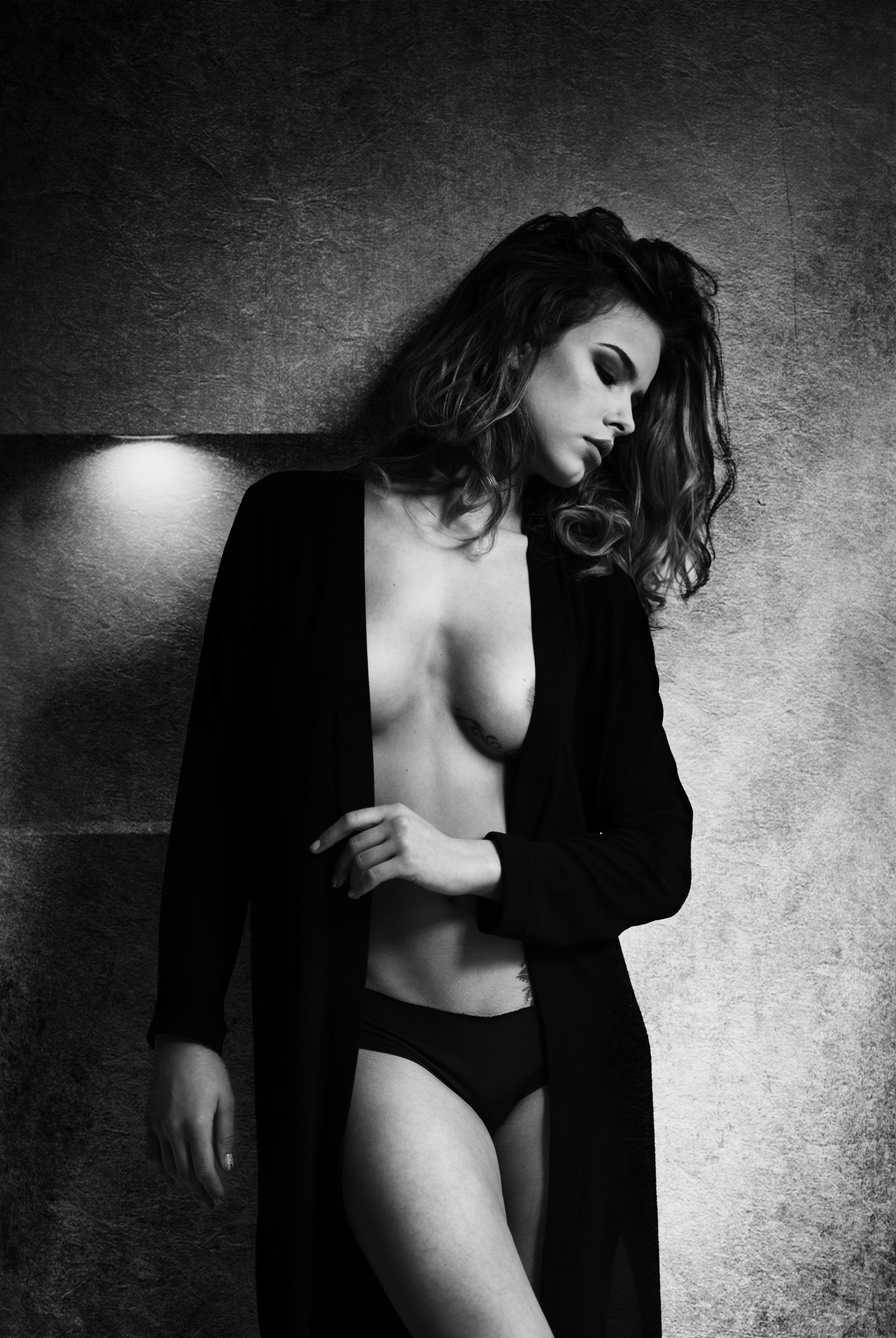 black and white, boudoir, girl, glamour, , Atanas Donev
