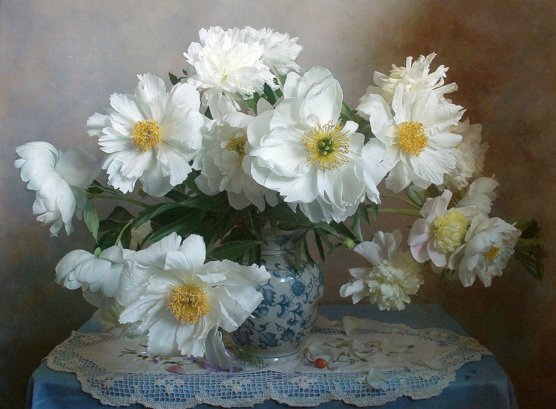 весна, натюрморт, букет цветов, пионы, марина филатова, Филатова Марина