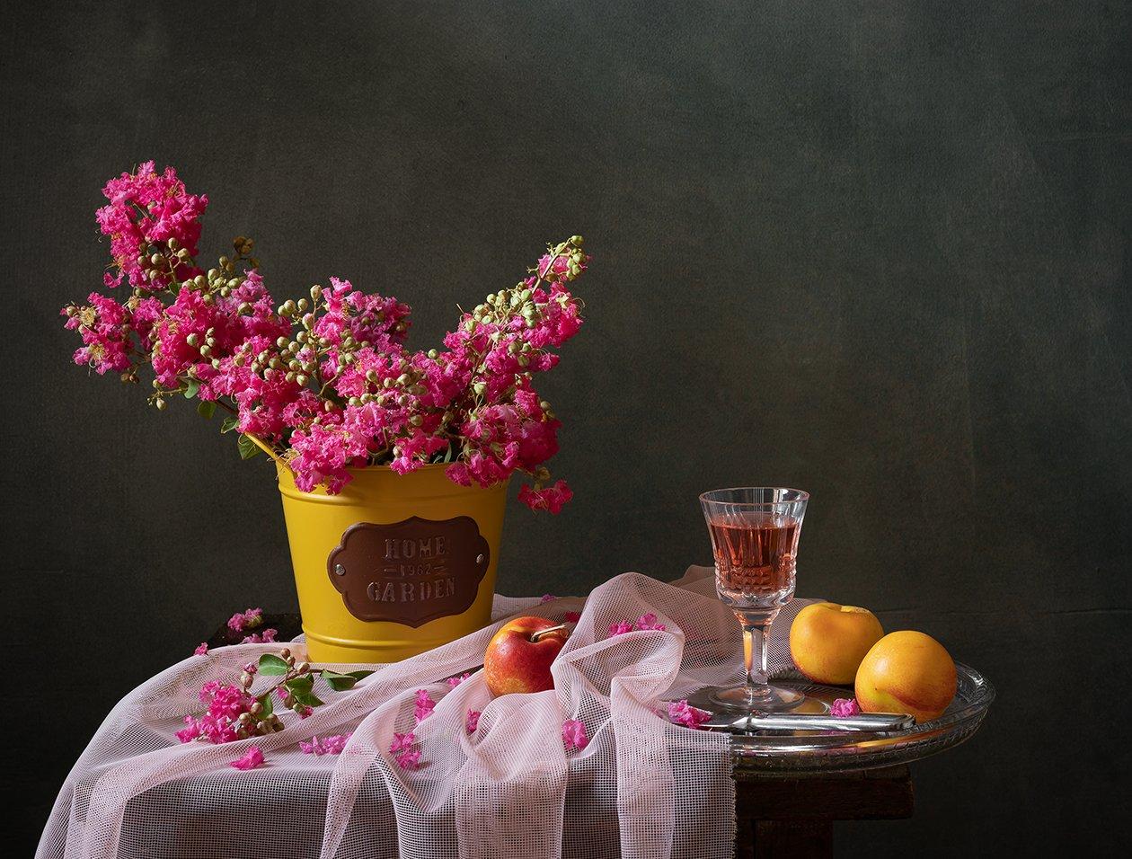натюрморт, цветы, Оля