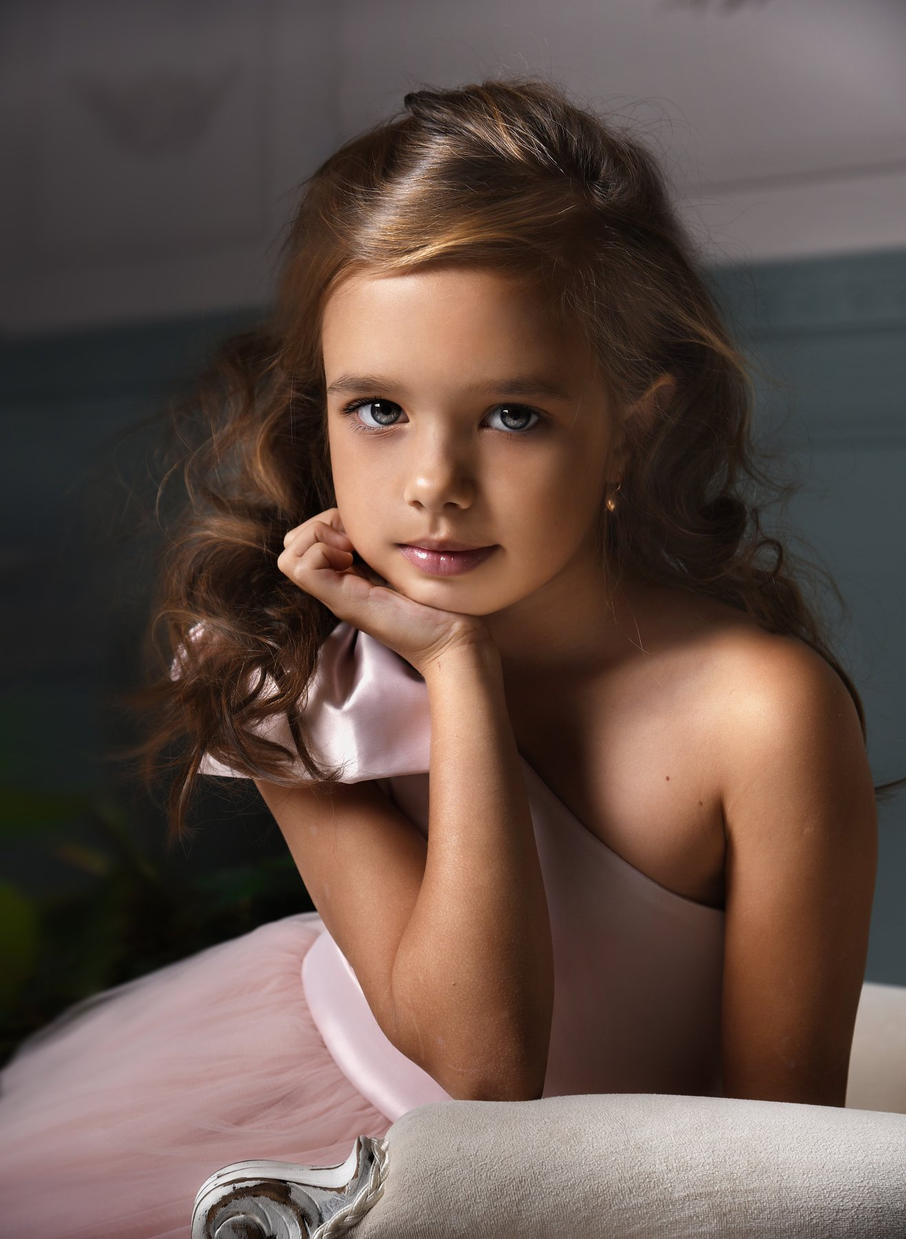 портрет, модель, студия, portrait, fashion, model, girl, child, childportrait, детская фотография, красивая девочка, модель, Olli Ogneva