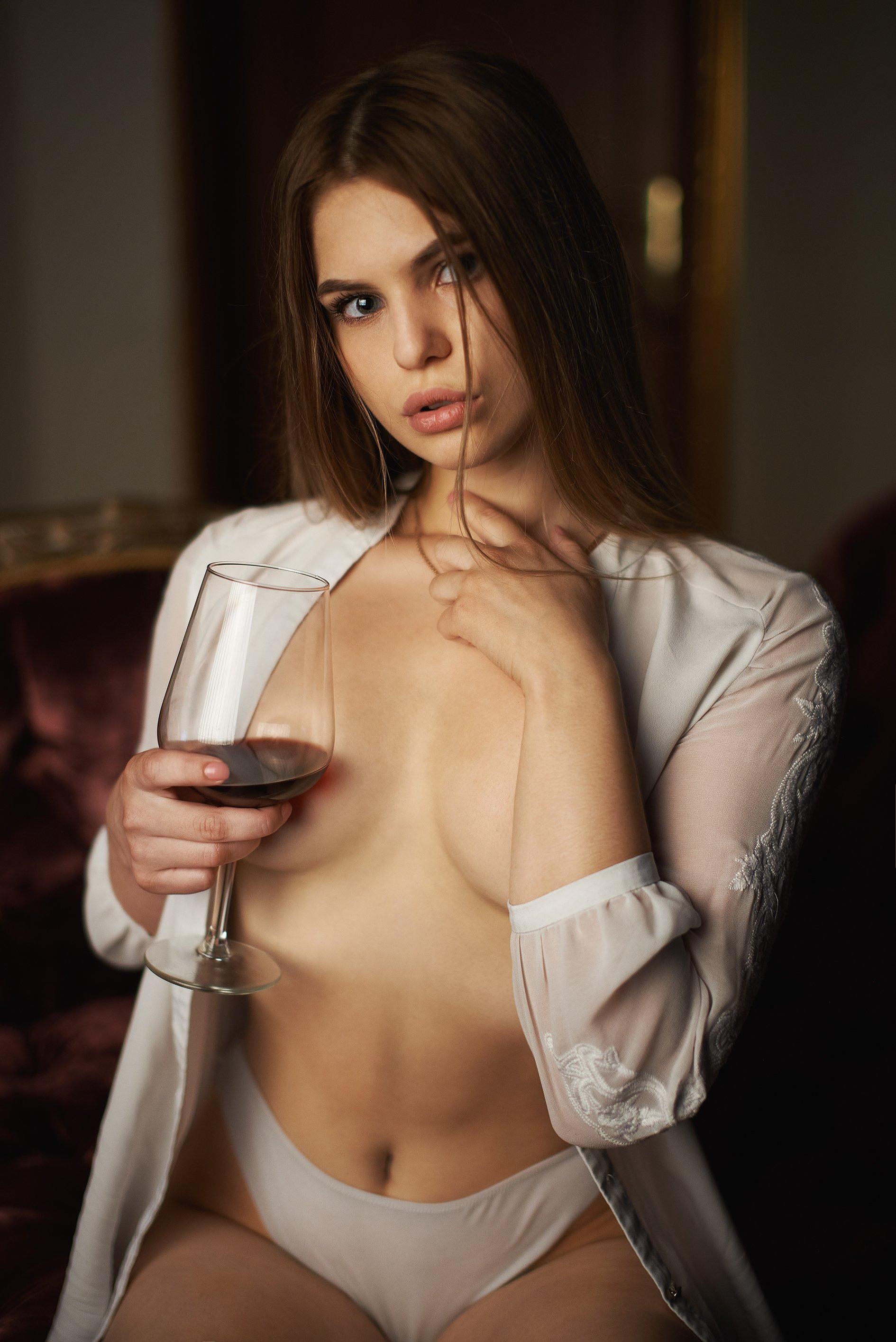 портрет, эмоции, взгляд, красивая, робко, сексуально, Alex